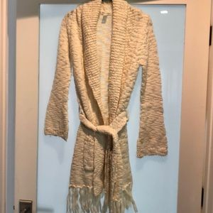 Alice + Olivia Wrap Long Cardigan Sweater